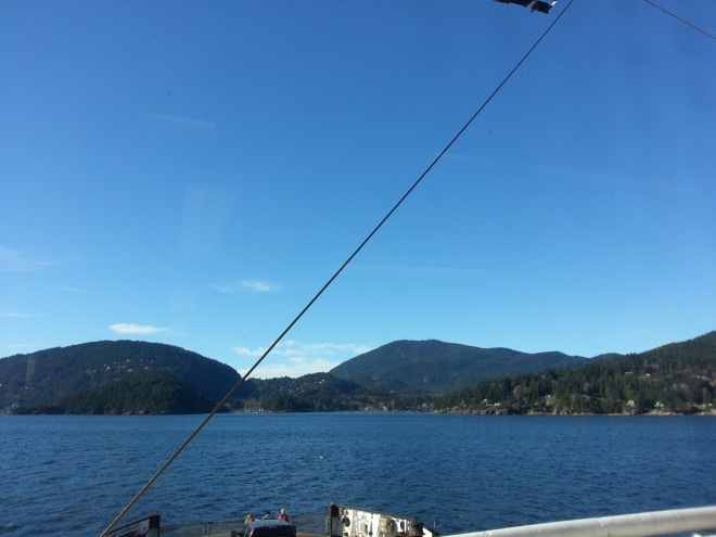 Ferry to Bowen Island