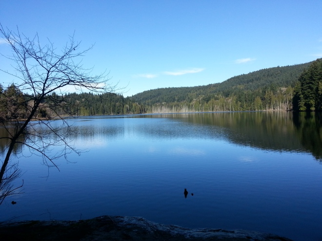 Killarney Lake at Bowen Island
