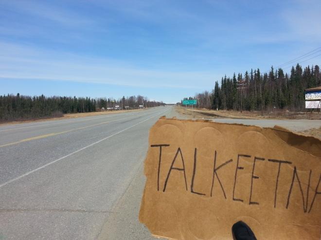 Hitchhiking Towards The Arctic Circle