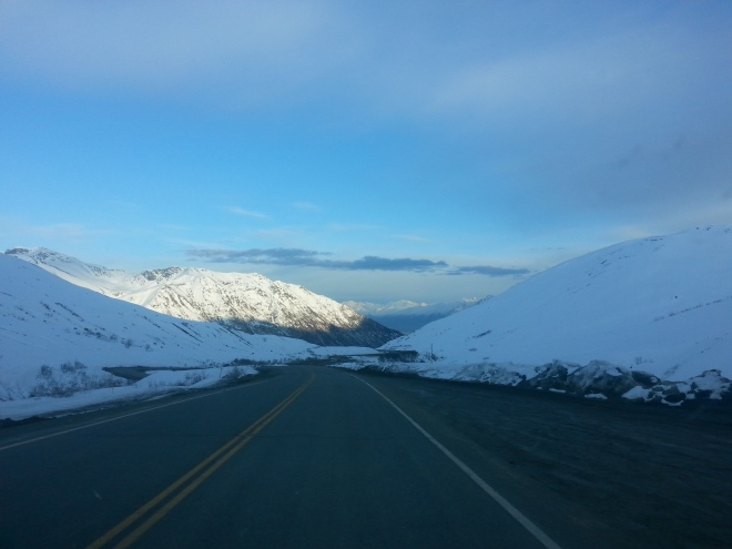 The Road to Hatcher Pass