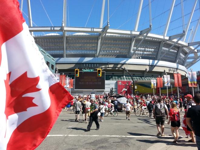 Canada Vs England