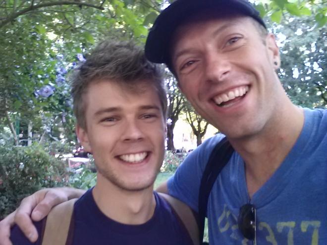 Chris Martin and I