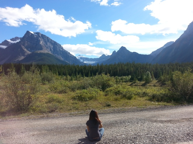 The road to Banff