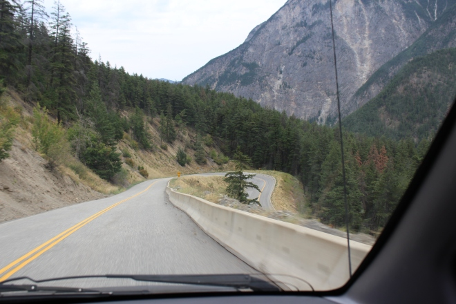The road to Lillooet