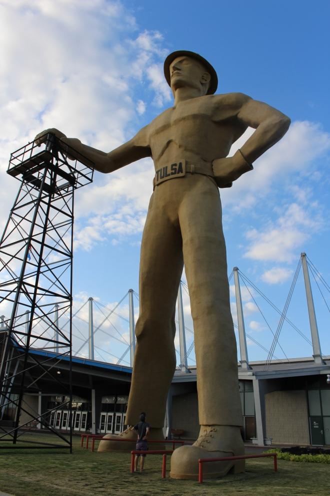 Golden Driller, Tulsa